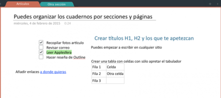 Ejemplo Outline App