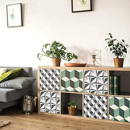 Vinilo para muebles con formas geométricas