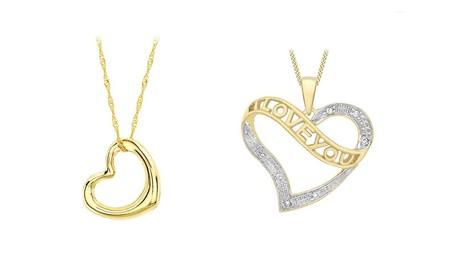 Amazon nos ofrece hasta el 40% de descuento en joyas con corazón en su diseño de marcas como Tous, Miore o Citerna