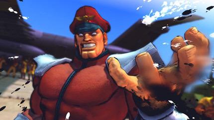 Imágenes de M. Bison y Sagat en 'Street Fighter IV'