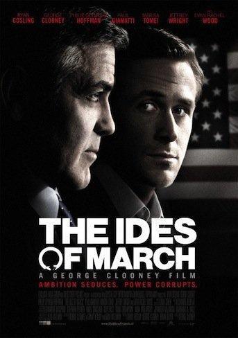 'The Ides of March' dirigida y protagonizada por George Clooney, cartel y tráiler