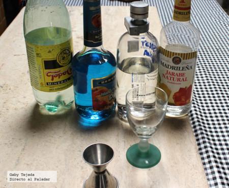 Ingredientes p coctel Maruata c m d a