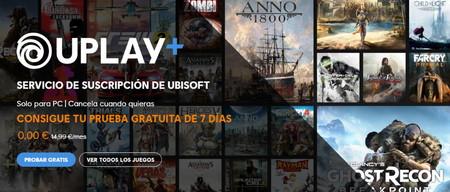 Uplay+ está gratis hasta el 27 de julio para que pruebes durante una semana más de 100 juegos de Ubisoft para PC