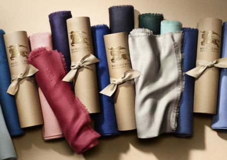 The Burberry Scarf Bar Lightweight Cashmere Scarves