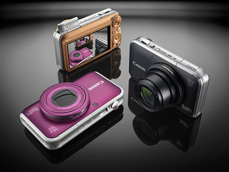 Nuevas compactas Canon: Ixus 105 IS, 130 IS y 210 IS y Powershot SX 210 IS