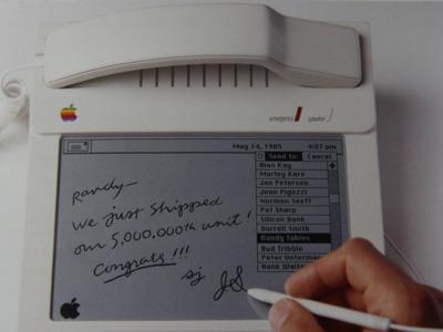 Cualquier tiempo pasado... Curiosos prototipos de Apple de mediados de los ochenta