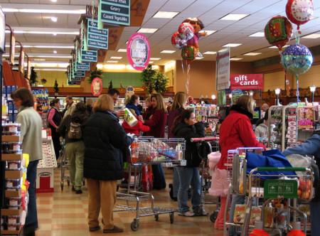 Mes de ofertas en el supermercado y hábitos de alimentación