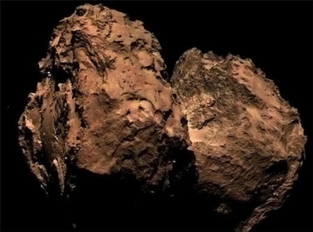 Rosetta le saca los colores al cometa 67P/Churyumov–Gerasimenko