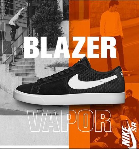 El ADN del skate se renueva con el nuevo y más ligero blazer vapor de Nike
