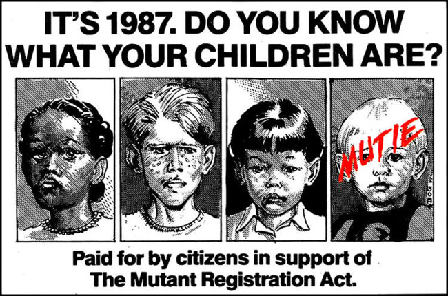 Anuncio Mutant Registration Act