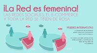 Internet ¿dominado por las mujeres? Infografía