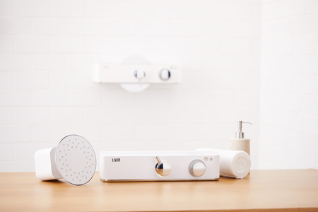 Livin Shower, una ducha con control de voz, música y gestión inteligente de la temperatura