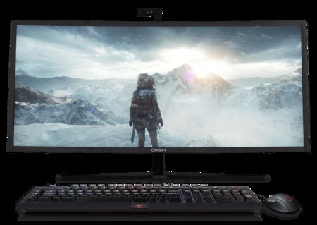 OMNI es un ordenador todo-en-uno que no renuncia a nada: Nvidia GTX 1080 y  HDMI para conectar la consola