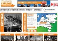 Escapadas a Holanda, nueva web