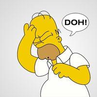 ¡D'OW! Un conductor británico es pillado con un carnet falsificado a nombre de Homer Simpson