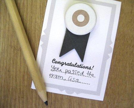 Congratulations, ¿algo que conmemorar?