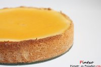 Receta de tarta de queso y naranja