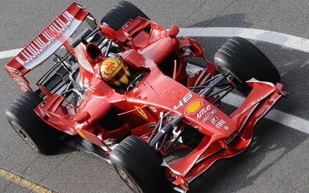 Ferrari Rossi Test F1 Wallpaper