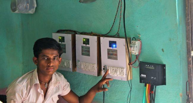La primera microrred eléctrica inteligente de la India