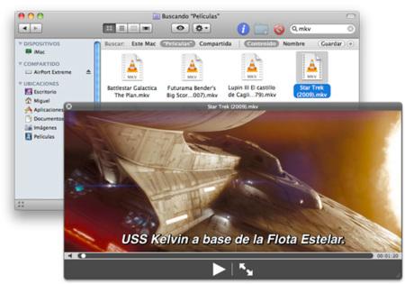 Añade soporte para archivos MKV en Vista Rápida