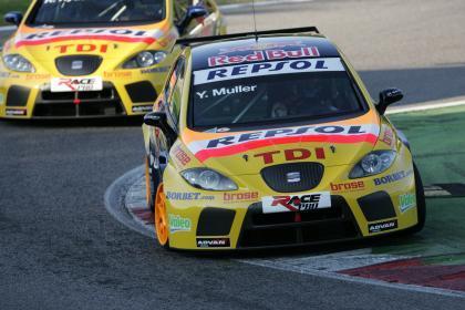SEAT domina los entrenamientos en Monza