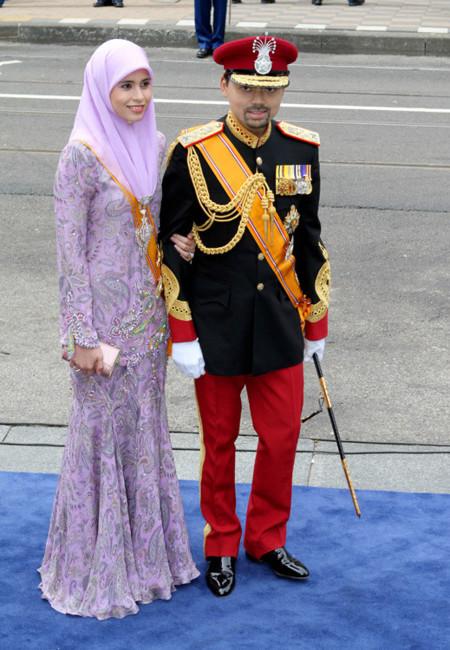 Brunei Holanda rey coronación