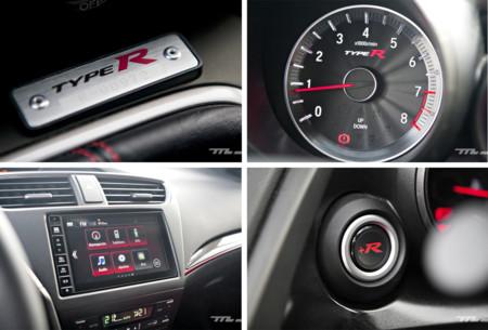 Honda Civic Type R Detalles Interior