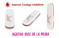 Vodafone lanza un módem USB Agatha Ruiz de la Prada entre otras promociones Internet Contigo