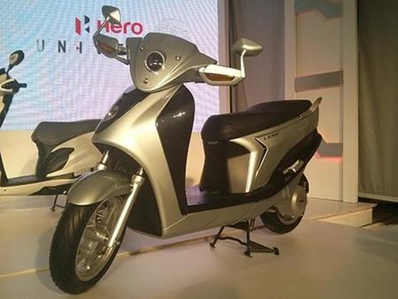 Hero Leap, el scooter eléctrico con extensor de autonomía