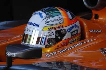 Adrian Sutil sorprende bajo la lluvia de Mónaco