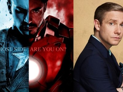 'Captain America: Civil War': Martin Freeman se suma a la Guerra Civil de Marvel