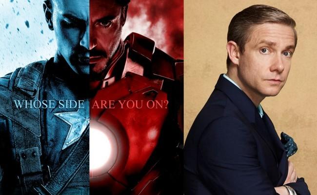 Martin Freeman se suma a la Guerra Civil de Marvel