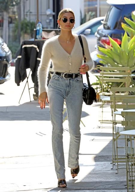 Hailey Bieber Dua Lipa Jeans 02