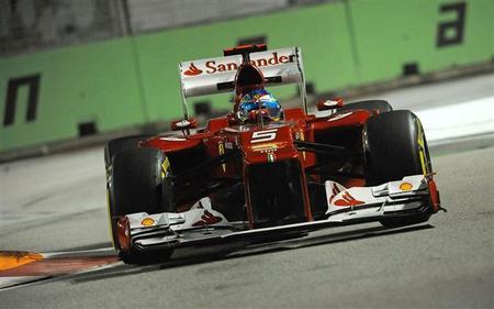Clasificación GP Singapur 2012 Fernando Alonso