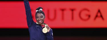 Simone Biles consigue dos nuevos oros (y ya supera el  récord de medallas de Sherbo)
