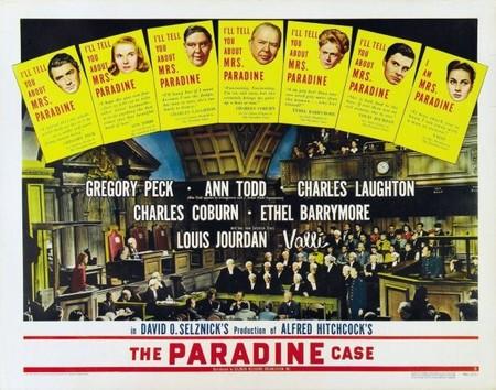 Alfred Hitchcock: 'El proceso Paradine', una obra menor