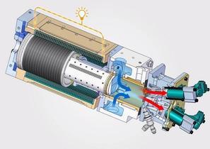 Toyota está trabajando en un motor lineal con pistón libre como generador para vehículos eléctricos