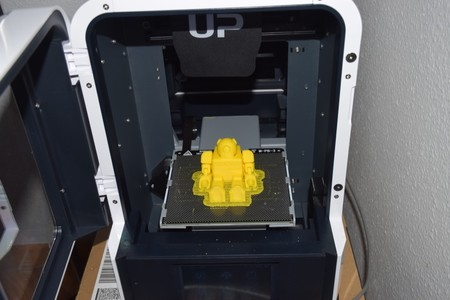 Impresión de un modelo de Thingiverse en la UP MINI2