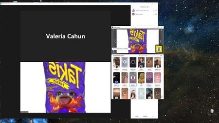 Cómo usar filtros de Snapchat en videollamadas de Zoom, Meet, Hangouts y otras plataformas