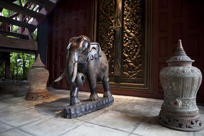 La casa de Jim Thompson, en Bangkok