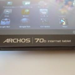 Foto 1 de 9 de la galería archos-70b-internet-tablet-1 en Xataka Android