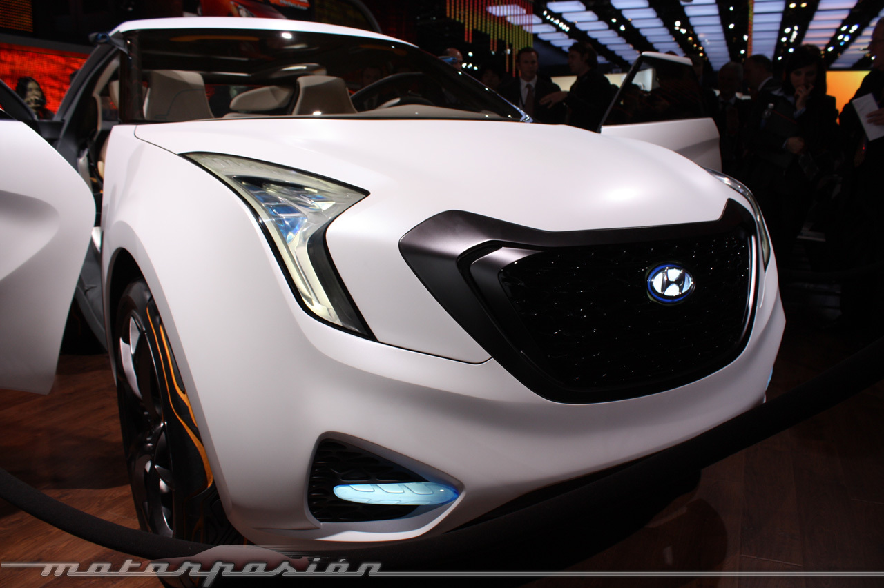 Foto de Hyundai CURB en el Salón de Detroit (8/29)