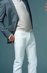 Foto 1 de 8 de la galería como-combinar-unos-vaqueros-blancos en Trendencias Hombre