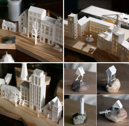 Esta pequeña ciudad de papel muestra un nivel de obsesión y detalle nunca antes visto