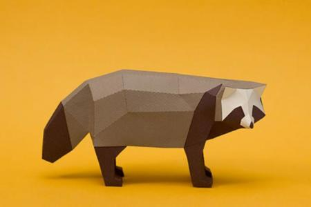 Animales Papel Guardabosques