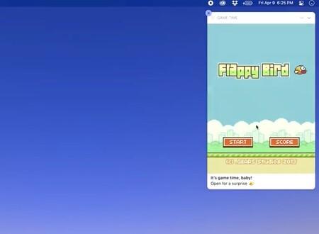 Flappy Bird llega a… las notificaciones de macOS Big Sur gracias al proyecto de un desarrollador