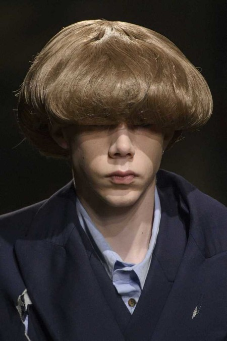 Charles Jeffrey Hair Trends Fall Winter Otono Invierno Tendencias Hombre 2018