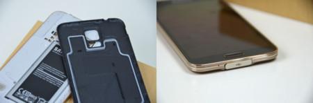 Galaxy S5 resistencia al agua