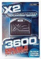 Batería con el doble de capacidad para PSP
