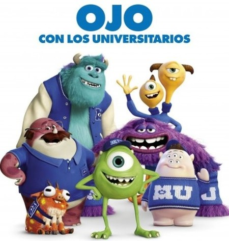 Cartel de Monstruos University